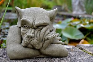 Gargoyle Stone Garden Ornament (Bert)