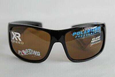 Kreed Shellcase Sunglasses Polarized 100% UV protection Floating Black (Kreed Sunglasses)