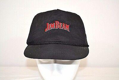 Jim Beam Black Hat w/Red/Blue lettering 100% nylon