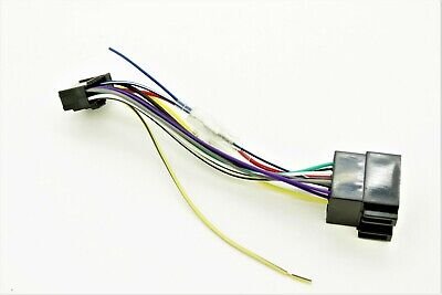 16 Pin Pioneer DEH/MVH/SPH ISO Wiring Harness Connector Adaptor Lead Loom Cable
