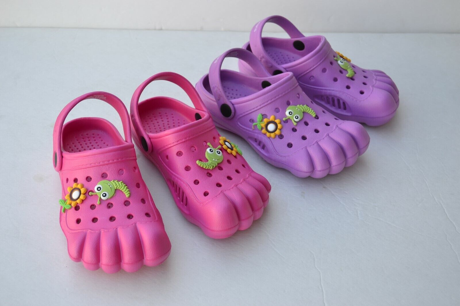 JB-R Kids Toddler Girl's Summer Sandals Flip Flops Clog Slip