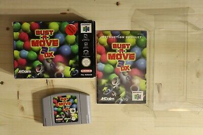 Bust-A-Move 3 DX - OVP/Boxed Nintendo 64 N64 PAL