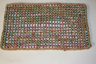 PARROT Toy PARTS,  Colorized Seagrass Mat Large 13.5
