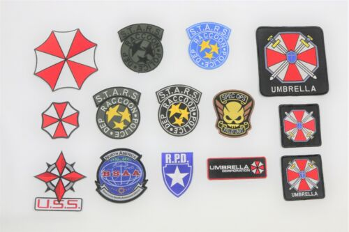 Resident Evil BSAA Umbrella Corp S.T.A.R.S. Raccoon City R.P.D. 14 PATCH Lot