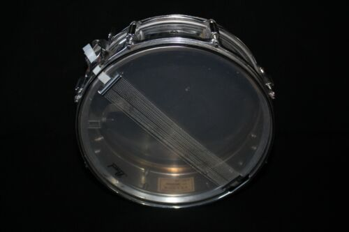 "Rogers PowerTone 5X14"" Chrome Snare Drum Vintage"