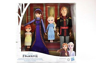 Disney Frozen 2 II Arendelle Royal Family Fashion 4 Doll Set Target EXCLUSIVE