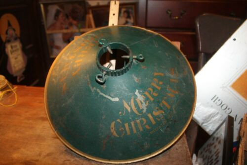 """Antique 1915 CREAM CITY CHRISTMAS TREE STAND With Label  15"""""""