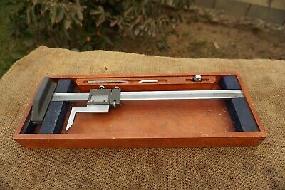 Brown Sharpe No.586 Vernier Height Gage 0 -14 Machinist Tool Made In Usa