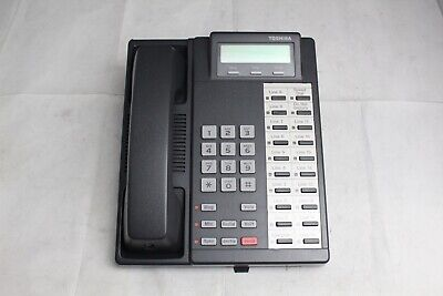Lot Of 7 Gently Used Toshiba Dkt2020-sd Digital Business Office Phones