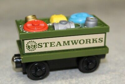 Thomas the Train Wood Wooden Steam works Spare Parts Car Lights Work 2003