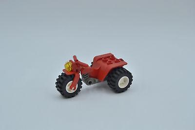 Gebraucht, LEGO Quad Trike Motorrad 30187 rot alt dunkelgrau red olddark grey gebraucht kaufen  Betzendorf