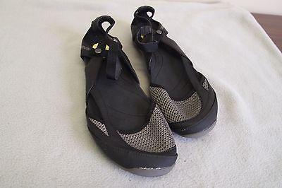Women's Black Ballet Flat TEVA Sandals  Shoes size 9 M