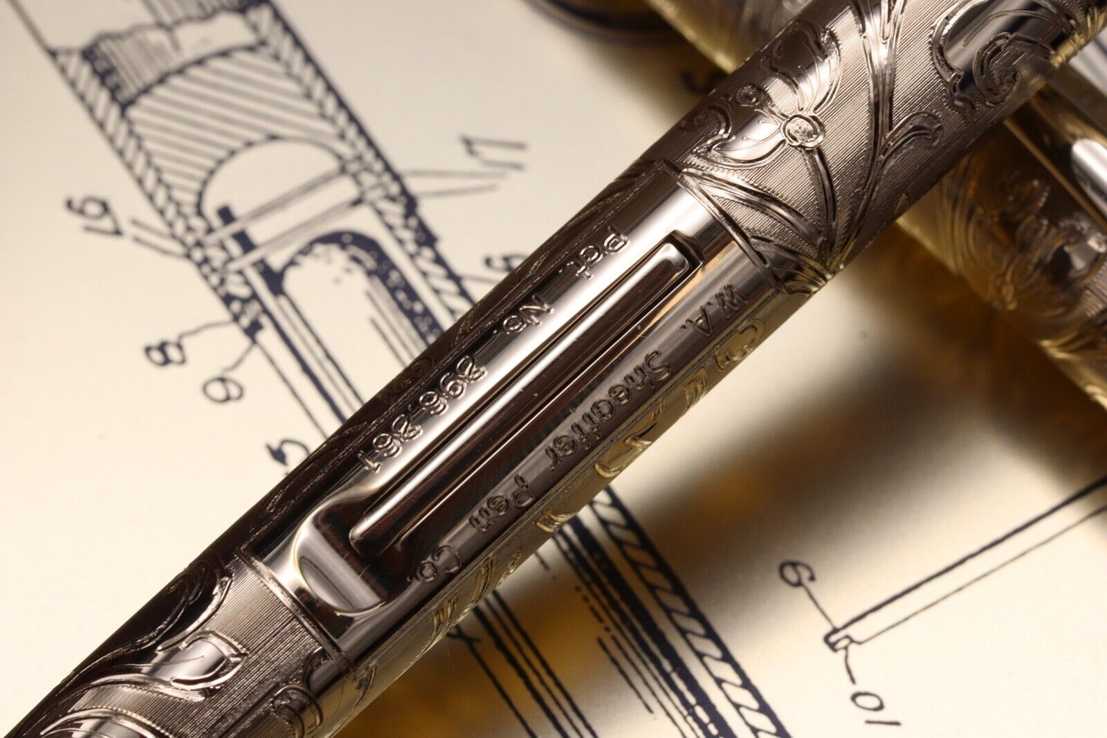 W.A Sheaffer Commemorative LE Lever Fill Fountain Pen - Fully Serviced July 21 2