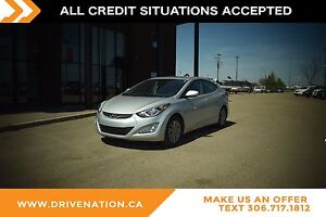2016 Hyundai Elantra L POWER SUNROOF, MULTILEVEL HEATED SEATS...
