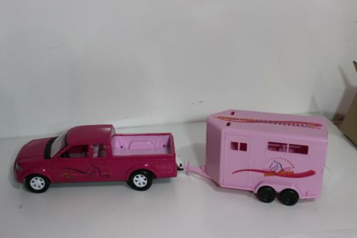 Popak  pickup Truck and horse Trailer like Breyer Stablemates truck