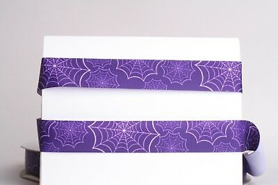 HALLOWEEN SPIDER WEB PURPLE 7/8
