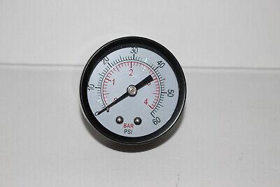 12 Pressure Gauge Meter Air Compressor Pressure Manometer 0-4bar 0-60psi