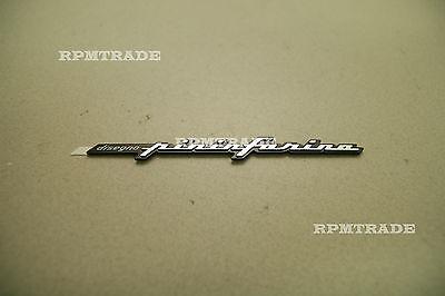 Fit: ALFA ROMEO FIAT Maserati Quattroporte Pininfarina Side Emblem