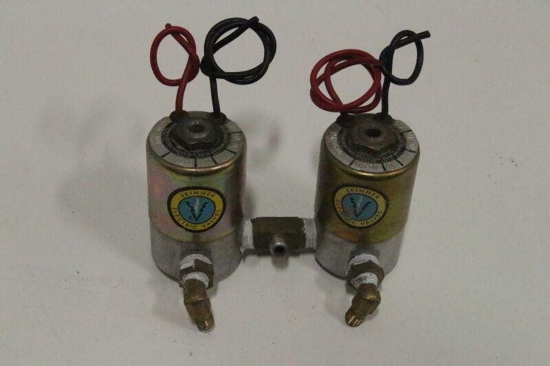 Lot of 2 Skinner Electric 1x V5K27610 1x V5K27600 115V 10W 100 PSI Valve VS4 VH3