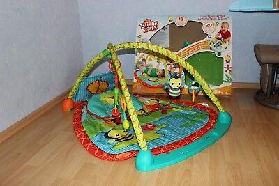 Aktiv-Spielcenter, Spieldecke mit Spielbogen und Activity Table, Bright