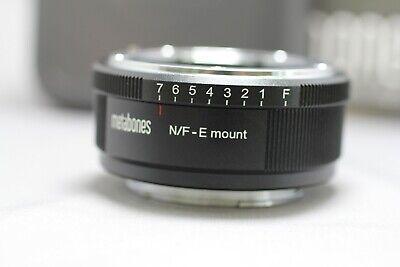 Metabones Nikon F to E Mount Adapter MB_NFG_E_BM1 Excellent