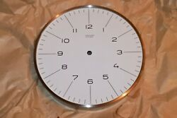 Vintage Junghans ATO-MAT Max Bill Wall 9 Clock Case Only parts project NOS