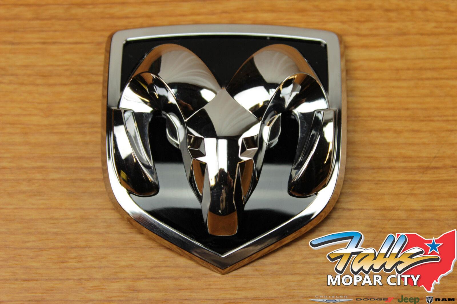 2002 2005 Dodge Ram 1500 2500 3500 Ram S Head Grille Emblem Badge Mopar Oem Ebay