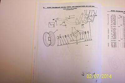 John Deere Drawn Moldboard Plows- Three And Four Bottom- 555 555h Series