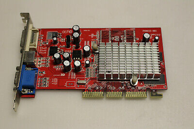 Carte graphique AGP Radeon 9200 SE/128Mb (C3D 6040) TESTED
