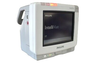 Philips IntelliVue MP5T M8105AT Patient Vital Signs Color Display Monitor