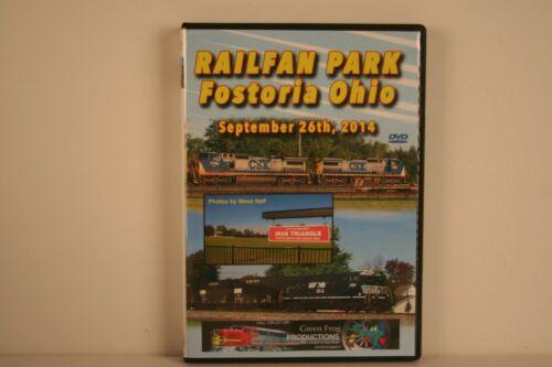 DVD Railfan Park Fostoria Ohio - Green Frog Productions