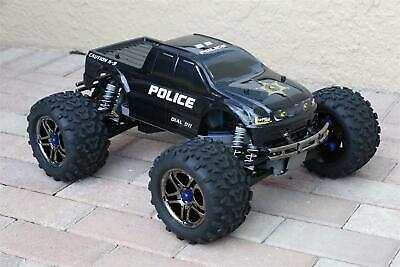 Gebruikt, Custom Body Police Sheriff Truck Style for Traxxas T / E Maxx Shell Cover E-Maxx tweedehands  verschepen naar Netherlands