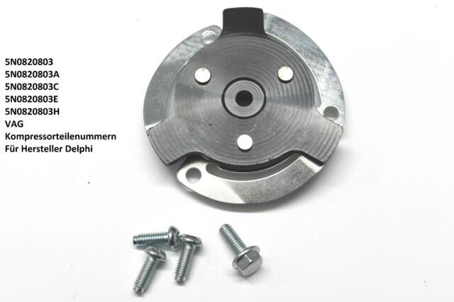 Klimakompressor Scheibe Kupplung Delphi Skoda VW 5N0820803