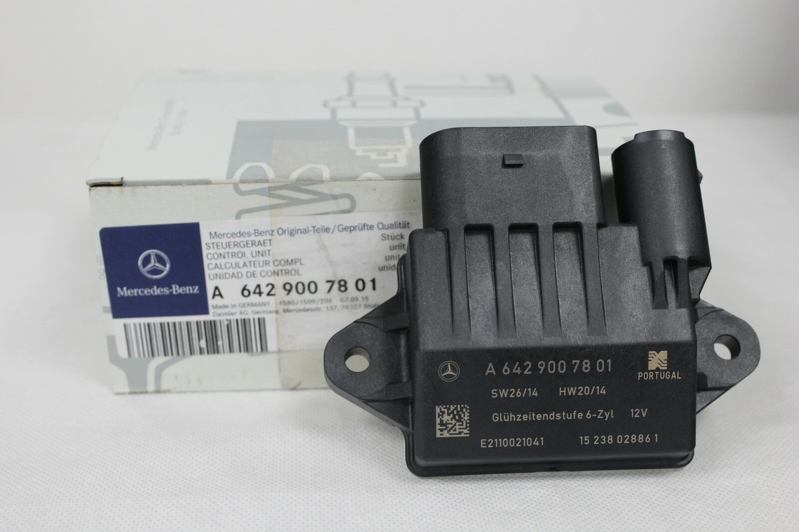 Genuine mercedes benz om642 v6 glow plug control unit for Mercedes benz glow plugs