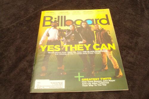 BLACK EYED PEAS 2012 Billboard Fergie #1 Boom Boom Pow, Glee, Reznor, Green Day