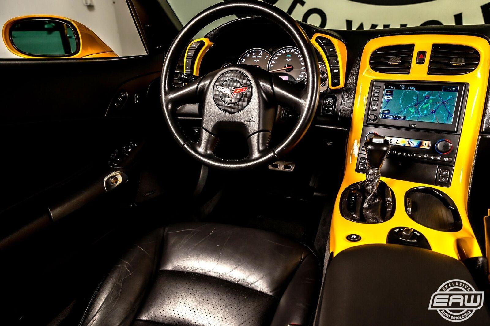 2005 Yellow Chevrolet Corvette Coupe  | C6 Corvette Photo 7
