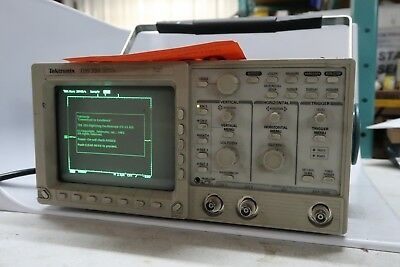 Tektronix Tds350 Dual 2 Channel Oscilloscope 200mhz 1gsas Sn B010206