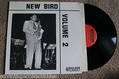 NEW BIRD Volume 2 Jazz RECORD LP VG+