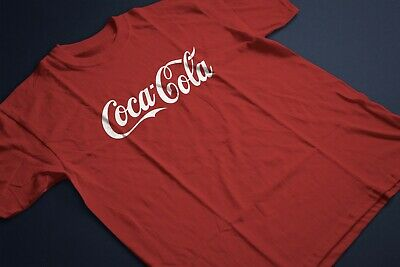 COCA COLA LOGO FANCY DRESS FUNNY UNISEX RED T SHIRT PH506