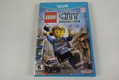 LEGO City Undercover (Nintendo Wii U, 2016) Complete w/ Manual