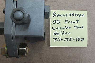 Brown Sharpe 0g Front Cross Slide Tool Holder