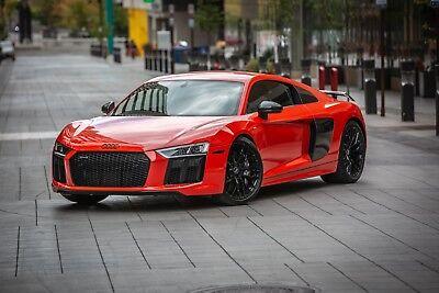 2017 Audi R8 v10plus 2017 Audi R8 v10plus Dynamite Red 8,100 Miles Clean Title Factory Warranty
