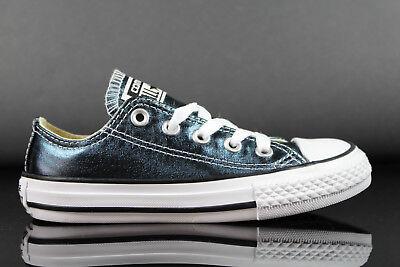 aylor All Star Mädchen Kinder Canvas Schuhe Sneaker Blau  (Chuck Taylor Mädchen Schuhe)