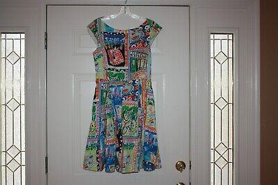 KATE SPADE NEW YORK MARIELLA PLAN A PICNIC PRINT DRESS, SIZE 8