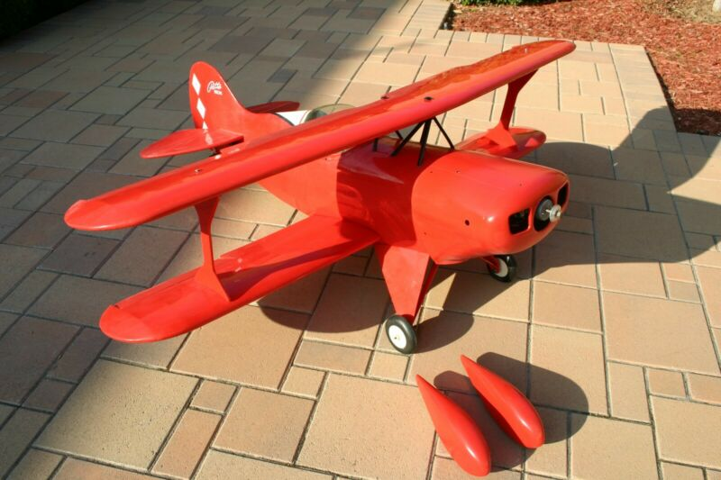 New Byron Originals 1/3 scale Pitts S-1Biplane