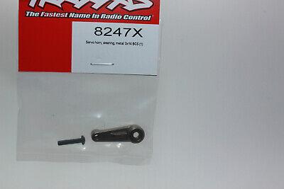 Traxxas TRX 8247X Servo-Horn Dirección Metal 3x14 Bcs Nuevo en Emb. Orig.
