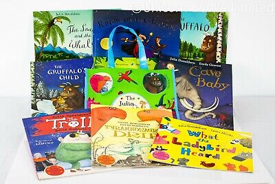 Julia Donaldson Story Collection - 10 Books with Bag New