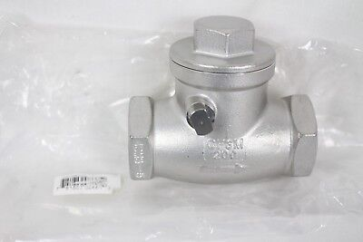 Fnw 200 Stainless Steel Threaded Check Valve 1 Quality Fnw16b200g Retail 122