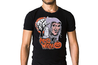 Acid Witch Trick Or Treat Song Halloween Inspired T-Shirt