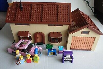 LEGO The Simpsons House 71006 retired Missing 2 figures 98% complete